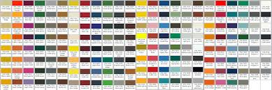 Complete Ral Colour Chart With Names Fabric Colour Chart