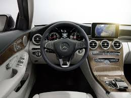 mercedes 2015 interior. the upgraded interior also adopts a new tabletstyle screen first seen in mercedes 2015