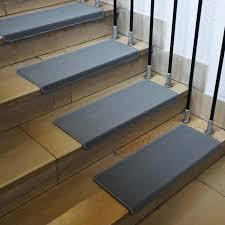Die treppe spielt als verbindendes element zweier etagen in ihrem haus eine tragende rolle. 15x Stufenmatte Hwc G49 Treppenteppich Treppenschutz Treppenmattenset 65x25cm Rechteckig Grau