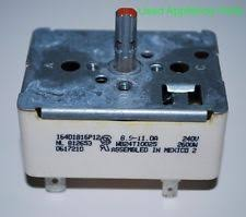 electric oven control general electric range oven infinite control switch tudp425 205c2488p001
