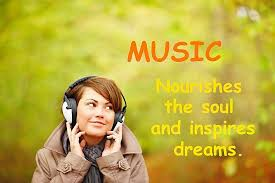 Music Dreams Quotes Best of Music Nourishses The Soul Quote Picture