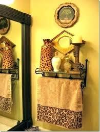 cheetah print bathroom set jungle accessories animal awesome stylish leopard rugs bath rug sets bathroo