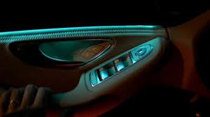 2016 mercedes c class w205 ambient light interior led lights review presentation c200 c300 c400 you