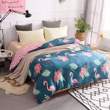 100 cotton duvet cover twin full queen king size cartoon quilt cover 1 piece pink