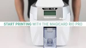 How to Set Up the <b>Magicard Rio Pro</b> ID Card Printer - YouTube