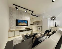 Living Room Design Hdb Flat Hdb Room Flat Interior Design Simple - Living room renovation