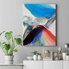 Yellow Blue <b>Feather Art</b> | <b>Abstract Modern Art</b> in 2019 | <b>Art</b>, <b>Abstract</b> ...