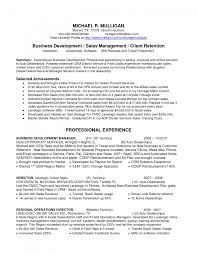Cover Letter Sample Business Development Resumes What Is Plan And