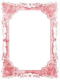 frame. Vintage Clip Art \u2013 Romantic Frames Christmas Colors Frame