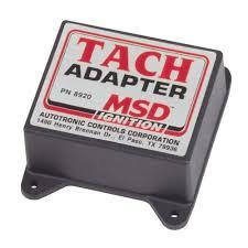 msd 8920 mustang tach adapter 1964 1995 msd tach adapter 1964 1995