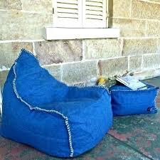 denim bean bags bag ottoman set linen ni chair suede
