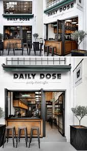 coffee bar. Andreas Petropoulos Has Recently Completed The Design Of Daily Dose, A Small Takeaway Coffee Bar In City Kalamata, Greece, That Features White, O