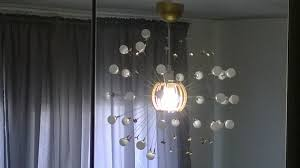 easy affordable fun diy sputnik chandelier
