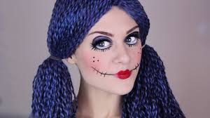 scary doll make up tutorial for halloween