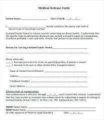 Medical Release Form For Child Extraordinary Medical Records Consent Form Template Medical Records Release Form 48