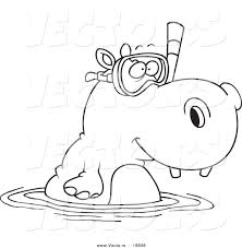 Small Picture Hippo Coloring Pages Amazing Hippo Coloring Pages With Hippo Color