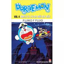 Truyện tranh Doraemon Truyện dài - Tập 4 - Nobita và lâu đài dưới đáy biển