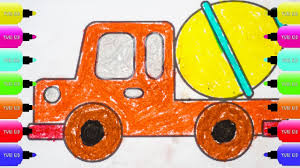 Truck coloring pages vectors (581). Garbage Truck Coloring Truck Coloring Pages Dump Truck Coloring Pages Youtube