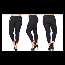 Stretchy Fleece Lined Jeggings Nwt