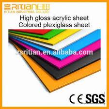 colored plexiglass sheet high gloss acrylic sheet colored plexiglass sheet for billboard