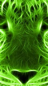 Mobile Wallpapers Neon Green