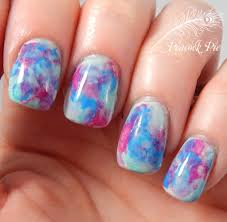 Nail Marble Art Without Water Beautiful Marble Nail Art Without ...
