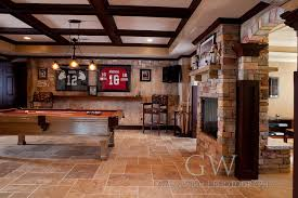 tuscany basement mediterranean basement basement sports bar ideas