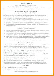Hospitality Resume Sample Cool Resume Template For Hospitality 48 Best Best Hospitality Resume