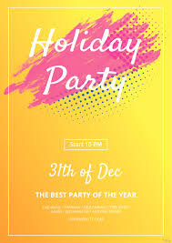 019 Free Holiday Party Flyer Template In Microsoft Word