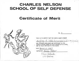 Group Certificate Template Self Defense Certificate Template Todd Group Testimonials Ideas