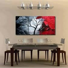 office canvas art. 3pcs Oil Painting Cuadros Decoracion Set Natural Scenery Canvas Print Decoration For Home Living Room Bedroom Office Art Picture-in \u0026 Calligraphy E