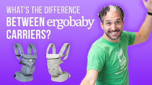 Ergobaby Baby Carriers: What's the Difference? - YouTube