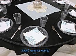beautiful tablecloths plastic for more look dining table round tablecloths plastic in black with dining