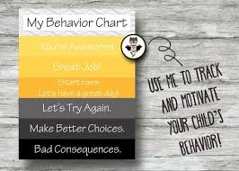 Batman Behavior Chart Printable Batman Behavior Chart Instant Download Batman Pdf