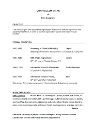 Strong Objective Statements For Resume resume Good Objective Statement For Resume 10