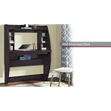wall mounted floating desk latitude run pavilion wall mounted floating desk reviews with regard to remodel