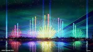Disney World Water Light Show Epcot Forever Nighttime Spectacular Walt Disney World Resort