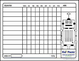 3rd Grade Behavior Chart Sample Image Behavior Chart For 3rd Grade Boys Chore Chart