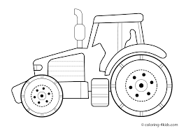 Small Picture Tractor Coloring Page Farm Tractor Coloring Page Free Printable