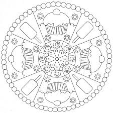 Small Picture Coloring Page Mandala Coloring Pages For Kids Coloring Page and