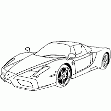 Ferrari Enzo Coloring Sheets 2019 Open Coloring Pages