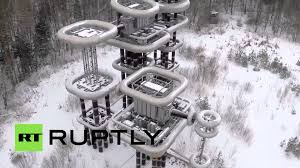 nikola tesla archives disinformation drone captures video of soviet era tesla tower lightning machine