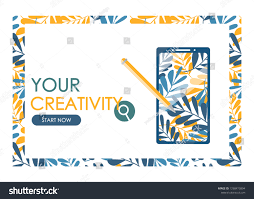 Graphic Design Lessons Concept Graphic Courses Drawing Lessons On Stock Vector
