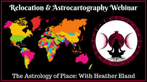 Astrocartography Chart Relocation Astrology Webinar Astrology With Heather