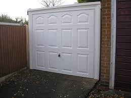 garador beaumont retractable garage door on a steel frame so no painting