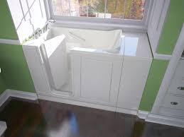 safety tubs 48 w x 28 d jet massage walk in bathtub left hand drain at menards