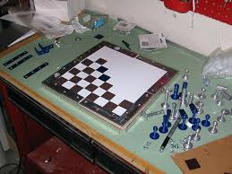Homemade Wooden Board Games Homemade Chess Set Chess Set Ideas Contemporary Chess Set Metal 93