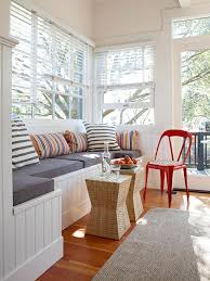 make use of every space window seat storage