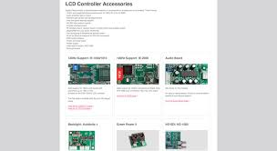 Digital View - LCD controllers for Commercial Displays