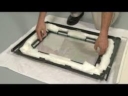 frigidaire gas oven range replace inner glass door 316117500